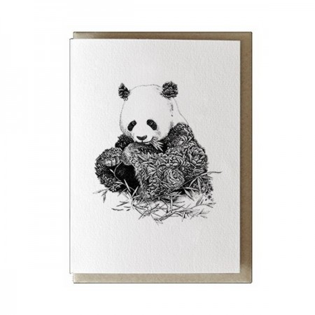 Marini Ferlazzo greeting card - giant panda