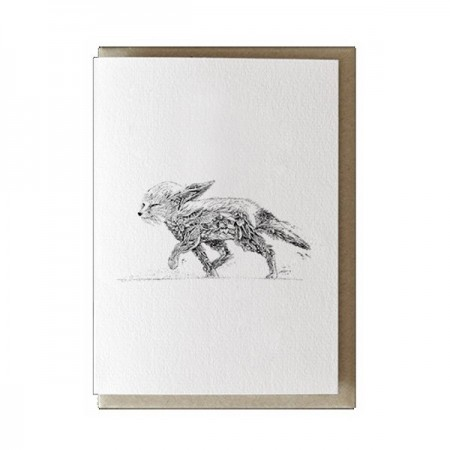 Marini Ferlazzo greeting card - fennec fox