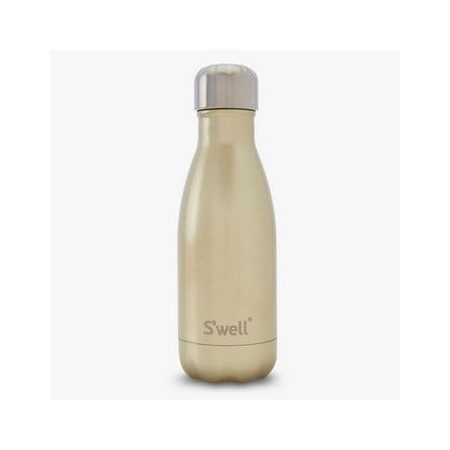 S'well Insulated Stainless Steel Water Bottle 260ml - Sparkling Champagne