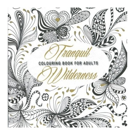 Tranquil Wilderness colouring book