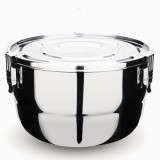 Onyx stainless steel airtight round container 26cm 6L