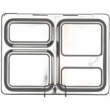 Planetbox Launch stainless steel lunchbox + one dipper