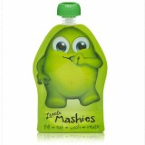 Little Mashies Reusable Squeeze Pouch 2 Pack Green