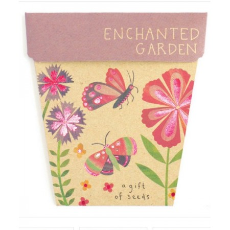Sow 'n Sow Seed Greeting Card - Enchanted Garden