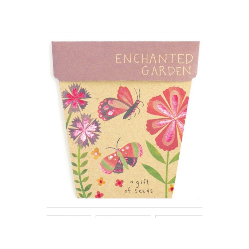 Sow 'n Sow Gift of Seeds Greeting Card - Enchanted Garden
