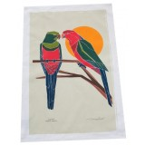 The Linen Press - King Parrot Tea Towel