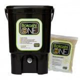 Bokashi compost bin KIT - black