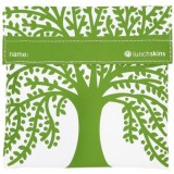 Lunchskins Reusable Sandwich Bag - Green Tree