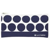 Lunchskins Small Reusable Zip Bag - Navy Dot