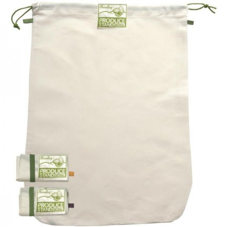 ChicoBag reusable large produce bags - 3 pack cotton/hemp