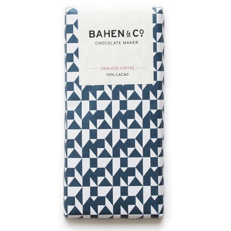 Bahen & Co. chocolate cracked coffee 70% cacao
