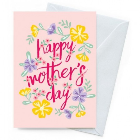 Mothers Day Card Earth Greetings - Hibiscus