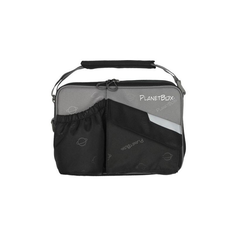 Planetbox Rover Carry Bag - Black with Grey