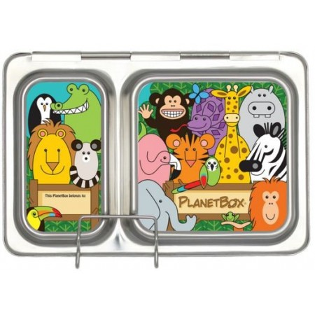PlanetBox Shuttle Complete Kit - wild animals
