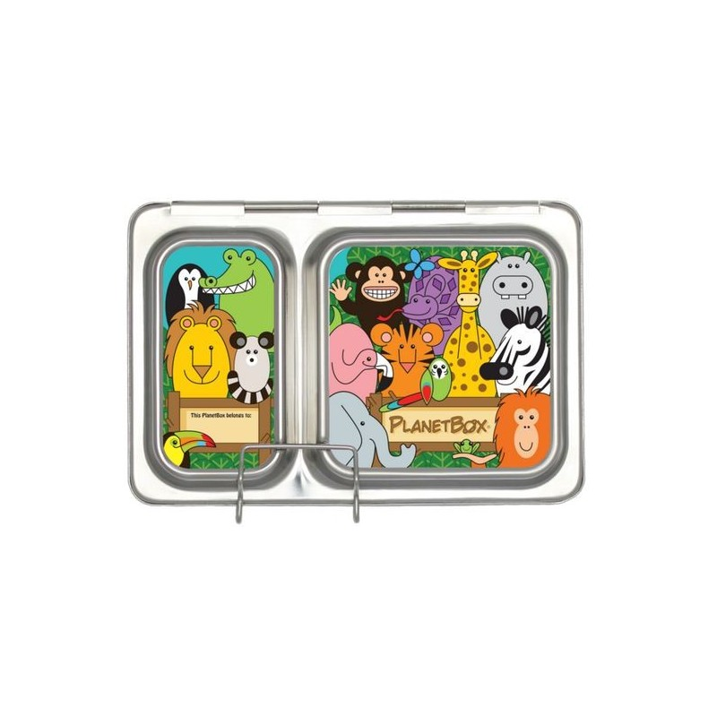 Planetbox Shuttle Kit WILD ANIMALS (Box, Dipper, Magnets)