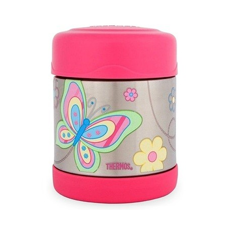 Thermos FUNtainer stainless steel insulated food jar 290ml - butterfly