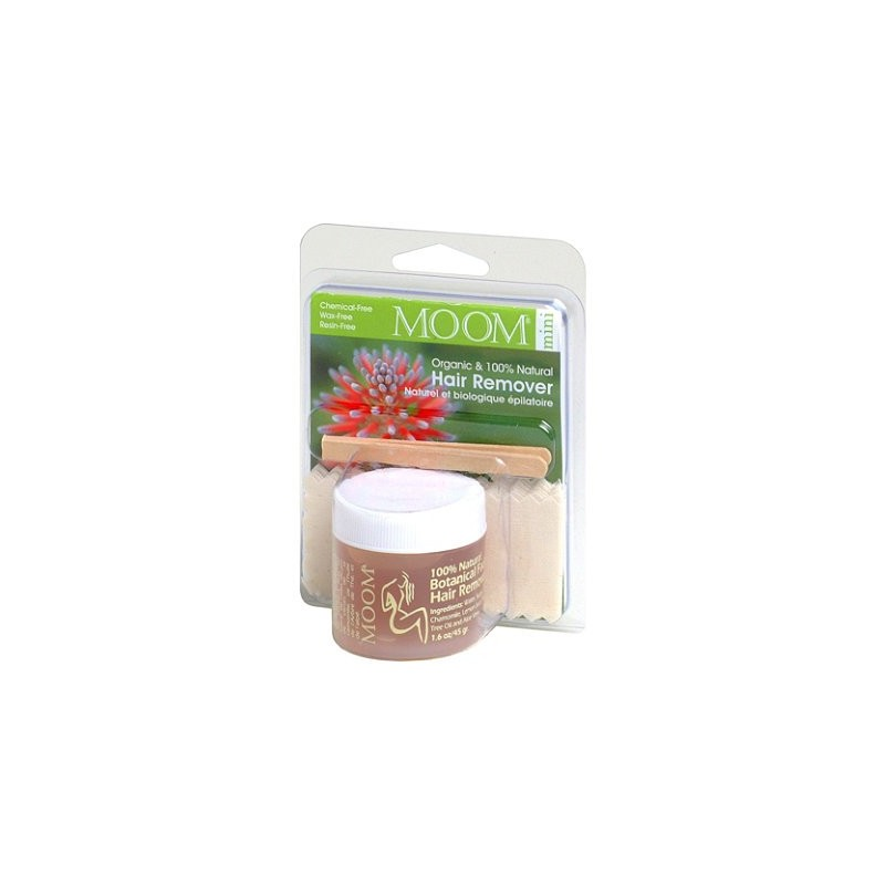MOOM Hair Removal Kit 45g Small size - Tea Tree