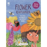 Flower Explorer: Sticker & Activity Book