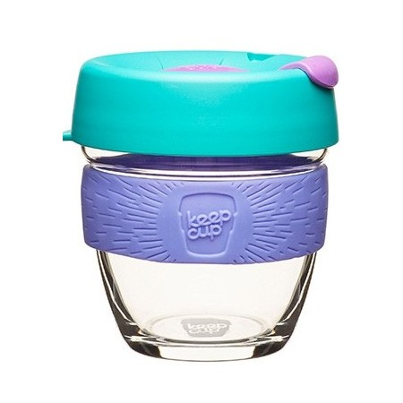 KeepCup small glass cup 8oz (227ml) - lime