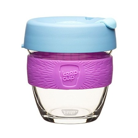 KeepCup small glass cup 8oz (227ml) - lavender