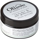 Olieve body butter - lavender & rose geranium 250ml