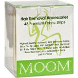 MOOM Hair Removal Fabric Strips 48pk