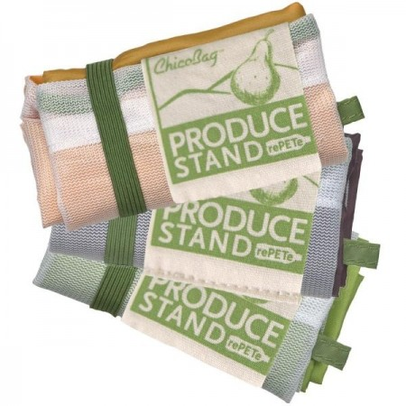 ChicoBag reusable produce bags - 3 pack rePETe (mesh)