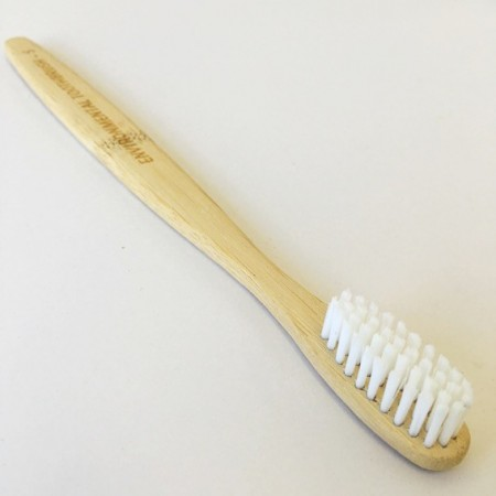 Bamboo Toothbrush Adult Medium - Single Brush