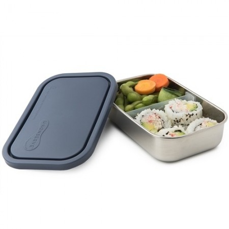 U Konserve Rectangle Container with Divider - Ocean