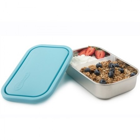 U Konserve Rectangle Container with Divider - Sky
