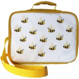 Munch Insulated Lunch Bag - Yellow Bee