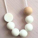 Tiny Teethers Adult Necklace - Winter White