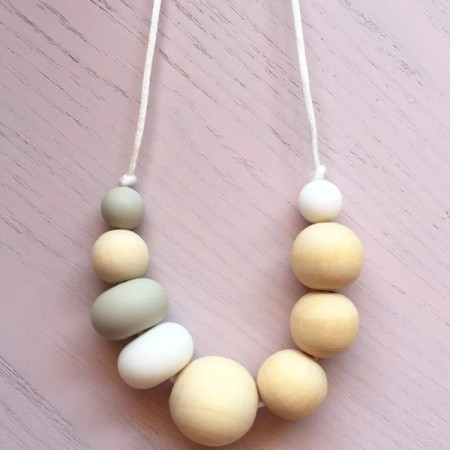 Tiny Teethers Adult Necklace - Woodland - Biome Eco Stores