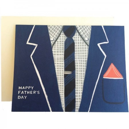 Father's Day Card - Blue Suit by Rifle Paper Co.