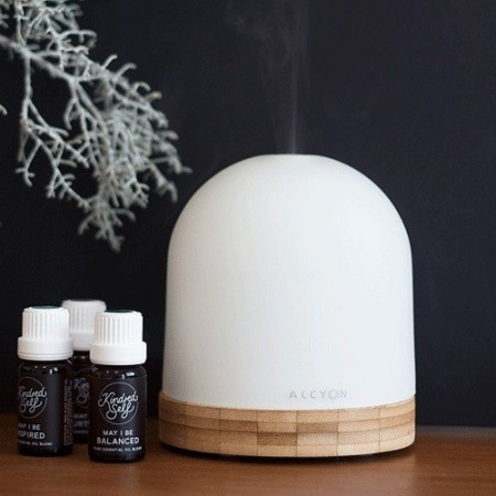 SOL Aroma Diffuser Glass and Bamboo
