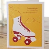 PG greeting cards - to a young heart everything...