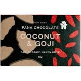 Pana chocolate coconut goji 45g raw organic vegan