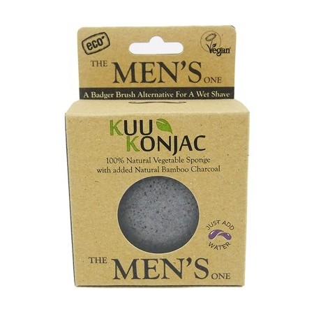 KUU Konjac - cleanse and shave sponge (alternative to shaving brush)