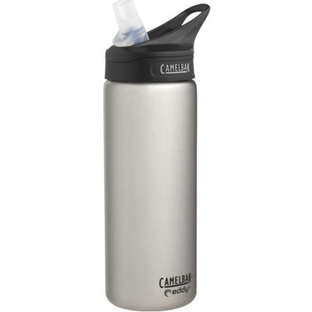 Camelbak Eddy Vacuum Insulated 0.6L Stainless Steel Water Bottle - Silver