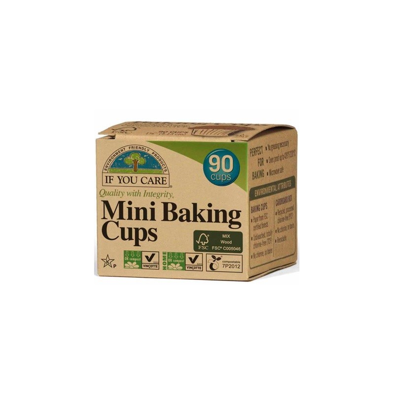 If You Care baking cups MINI (90) unbleached chlorine free