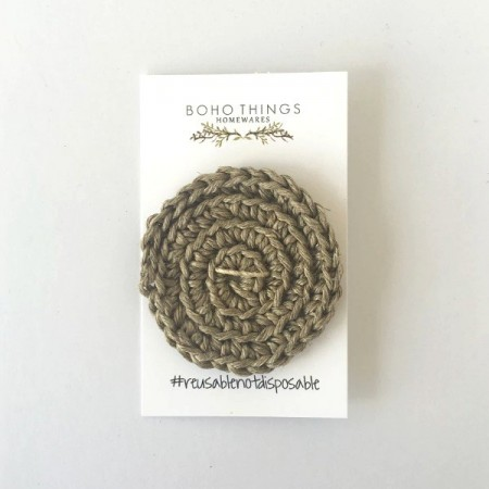 Boho Things Hemp Face Scrubby