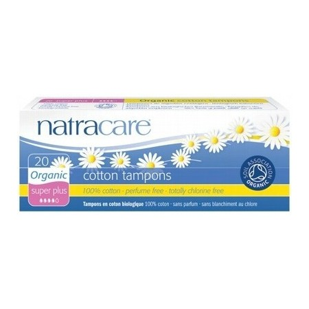 Natracare organic cotton tampons (super plus)