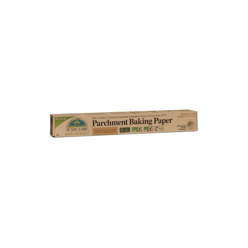 If You Care baking paper unbleached chlorine free (19.8m uncut roll)