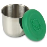 Planetbox tall dipper stainless steel with silicone lid