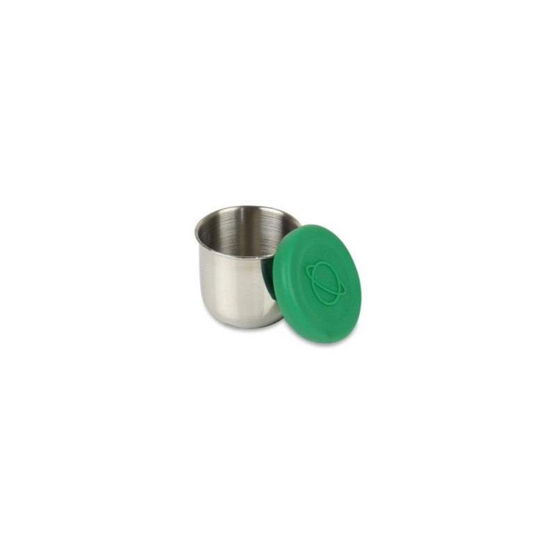Planetbox Tall Dipper With Green Silicone Lid