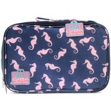 Go Green Lunch Box - Sea Horses Purple Box