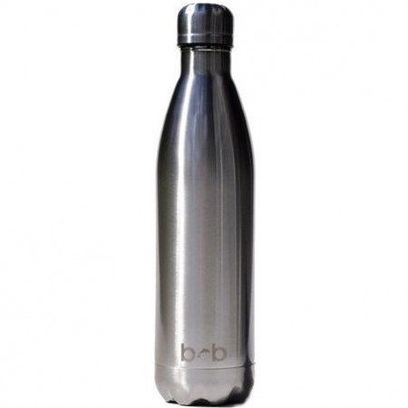 BBBYO Stainless Steel Water Bottle 750ml - Silver