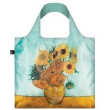Loqi Reusable Shopping Bag Vincent van Gogh Sunflowers
