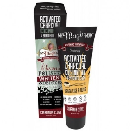 My Magic Mud Whitening Toothpaste - Cinnamon Clove
