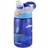 Contigo Kids 415ml Gizmo Plastic Water Bottle - Sailboat